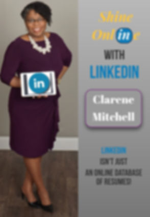 Clarene Mitchell Shine Online with LinkedIn  Front COVER_edited.jpg