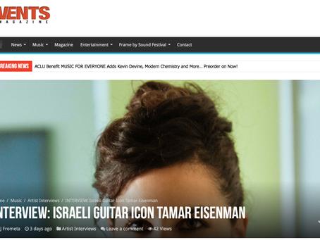 Tamar Eisenman, Easy Comes Free VENTS MAGAZINE