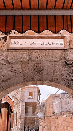 Holy land, holy sepulchre._One of the mo