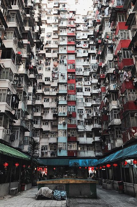 Chaos in Quarry Bay (HongKong)