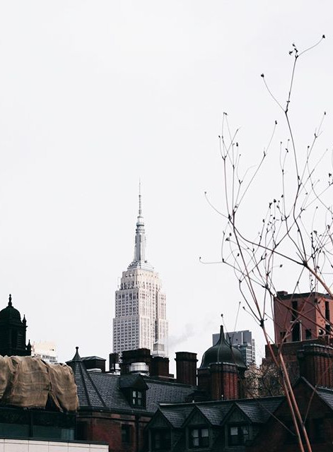 Empire State from the High Line (NY-US)
