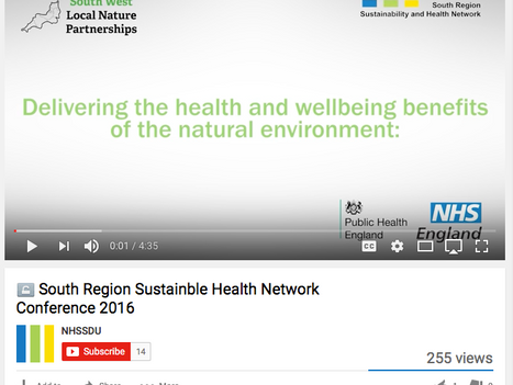 Video - NHS South and nature