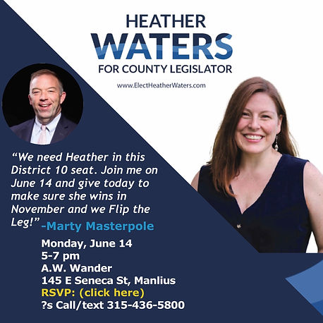 Drinks with Marty June 14 Elect Heather