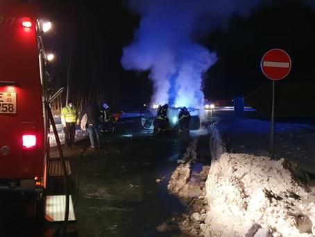 Verkehrsunfall BAB 2 - Auffahrunfall RS Zweidorfer Holz  (12.02.2021)