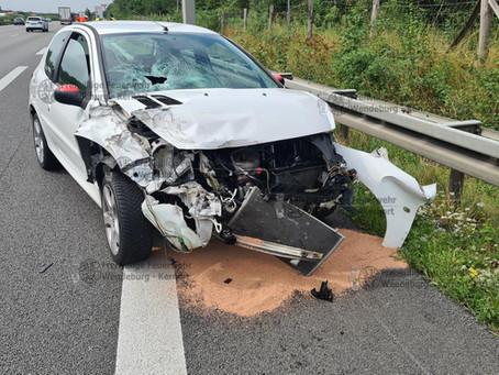 Verkehrsunfall mit verletzter Person (19.08.2021)
