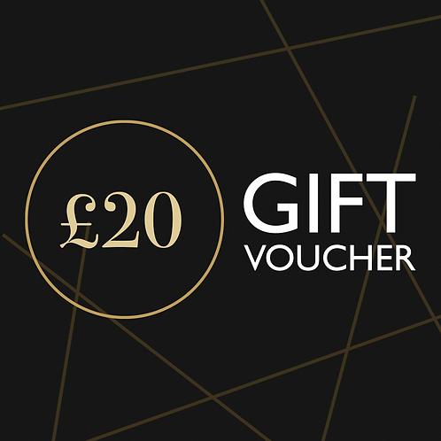 £20 Namaste Lounge Gift Voucher