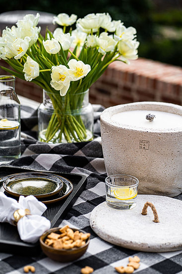 Outdoor Urban Collection - Candle Extra Large + Lid