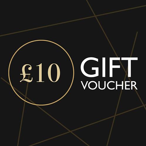 £10 Namaste Lounge Gift Voucher