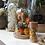 Thumbnail: Stolp met droogbloemen