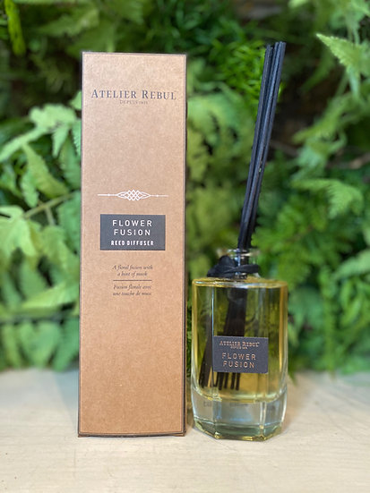 Flower Fusion Reed Diffuser : Premium Collection
