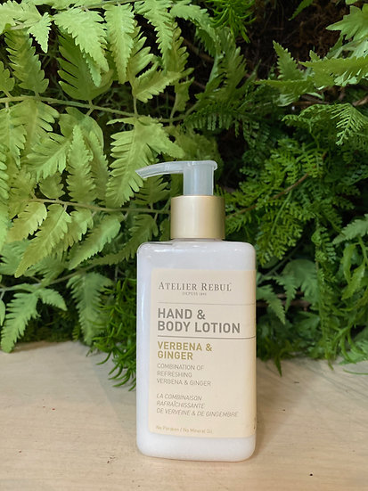 Hand&Body Lotion Verbena&Ginger : My-Home Collection