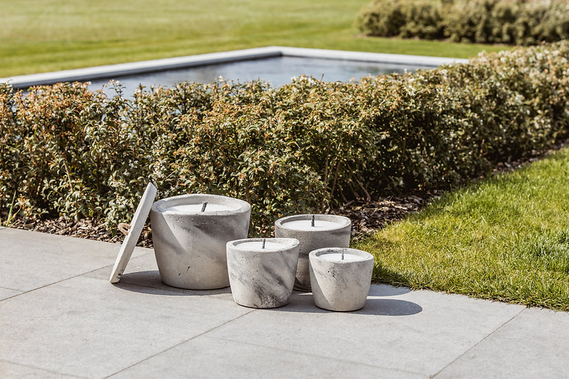 Outdoor Urban Collection - Candle Small Ovale