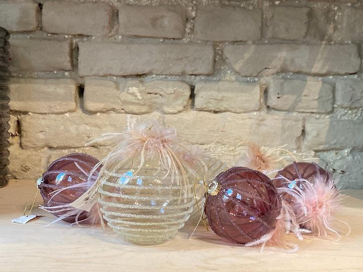 Glitter Kerstballen : Christmas Collection
