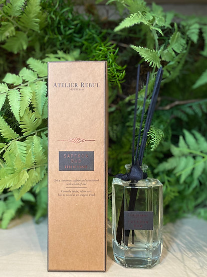 Saffran Oud Reed Diffuser : Premium Collection