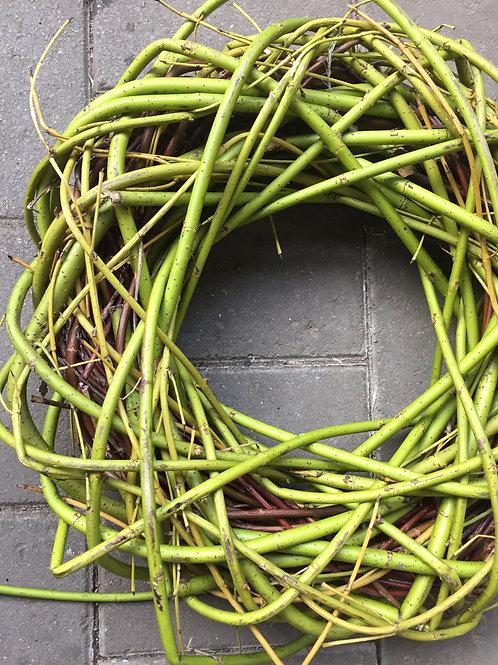 Krans cornus groen 45cm