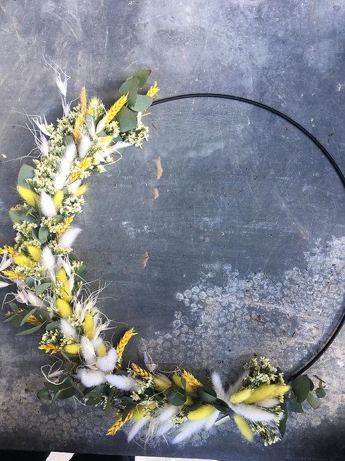 Krans droogbloemen 30cm