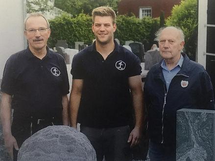 Dieter Weissbrodt, Gerrit Weissbrodt, Paul Weissbrodt
