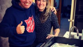 Food drop with Peter Hobbs- Bellarine Outreach Van