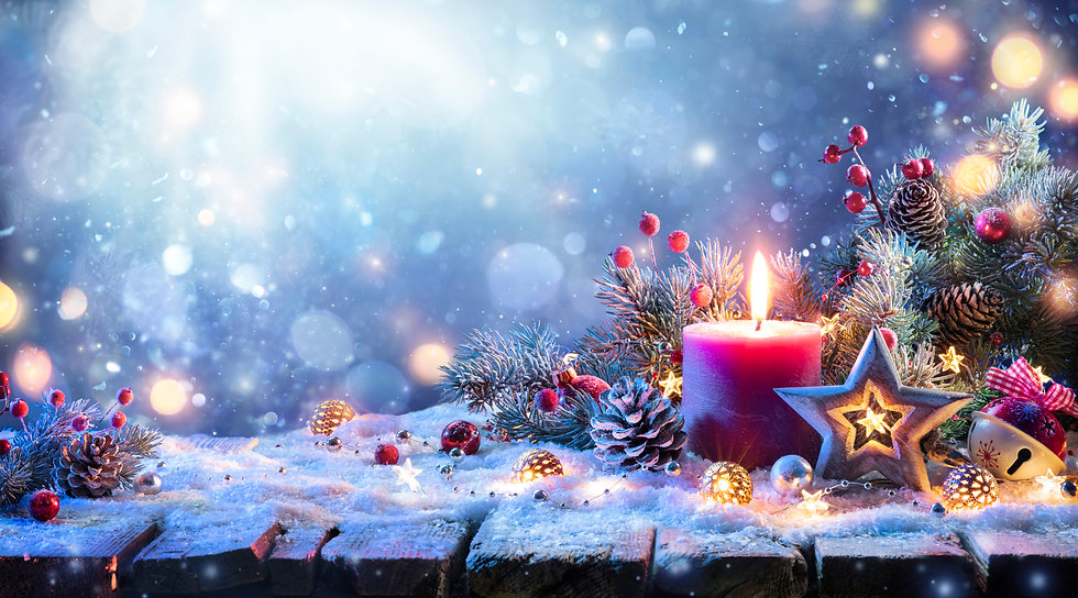 Abstract Advent Background - Christmas D