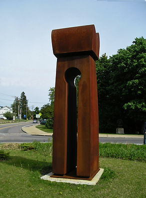 Monument to Memory, weathering steel