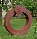 Simple Love, steel, 6x6 feet 2005.jpg