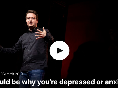 This could be why you're depressed or anxious—Johann Hari