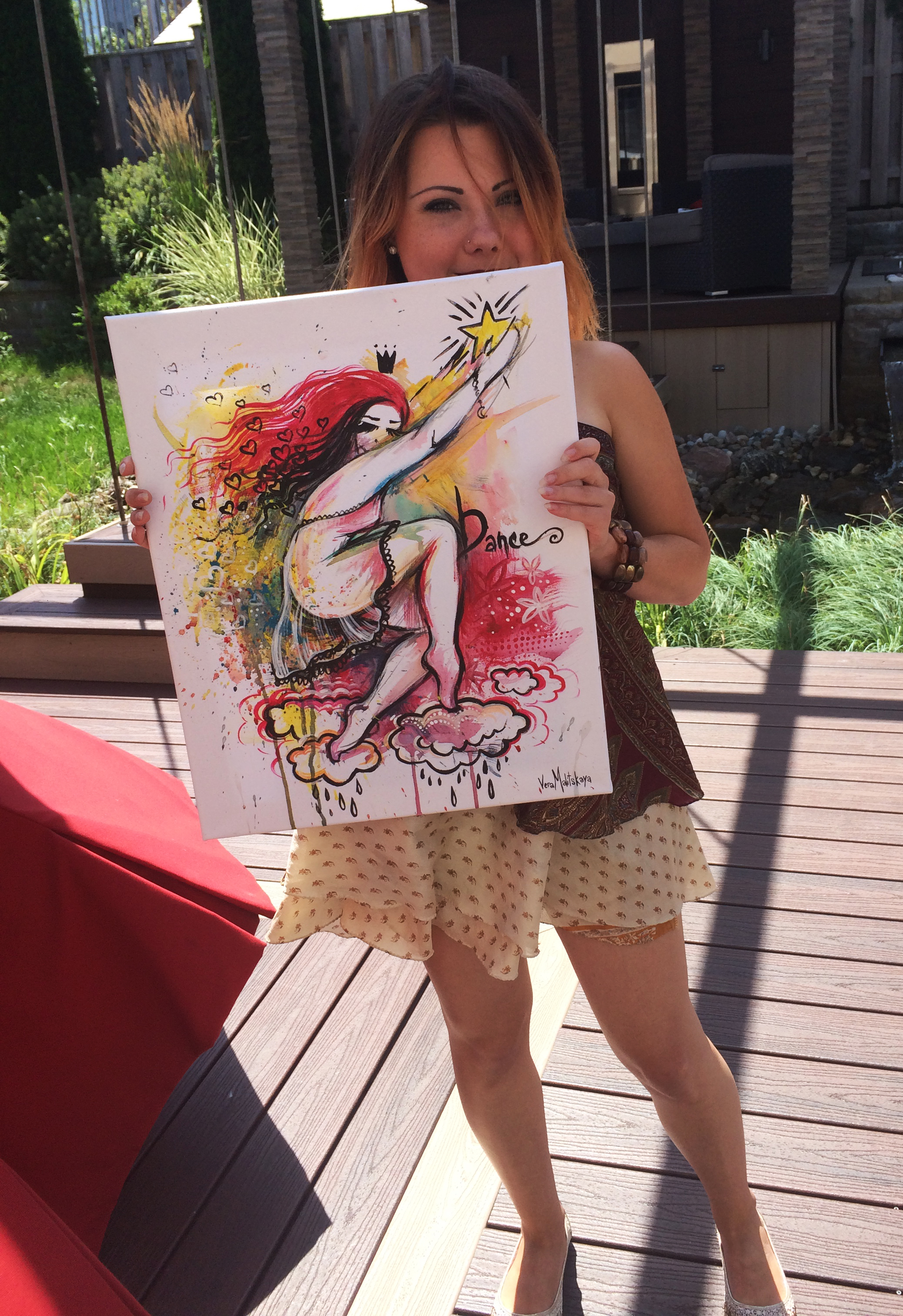 Live Painting Creation