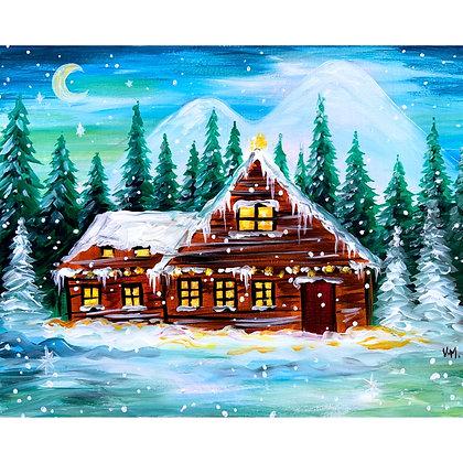 Magical Winter Night - Video Recording