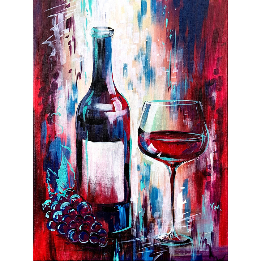 """Me Time"" - Paint Wine + Enjoy Wine"