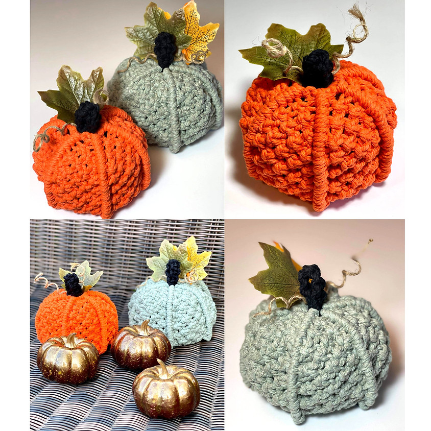 """How to Make a Pumpkin"" – Macrame"