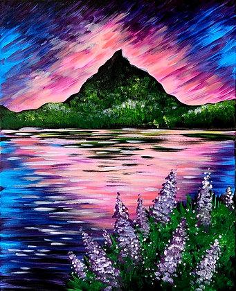 Purple Mountain Reflection - Video Recording