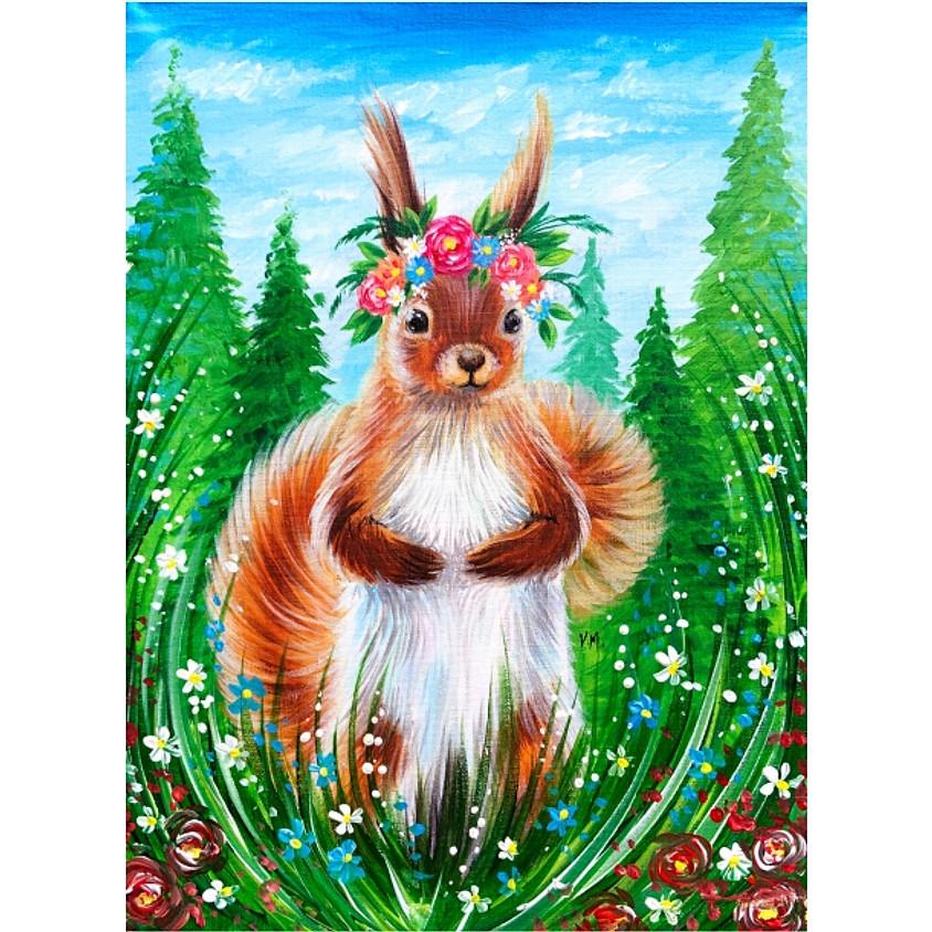 Floral Squirrel