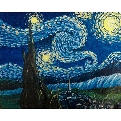 Van Gogh's Starry Night - Video Recording