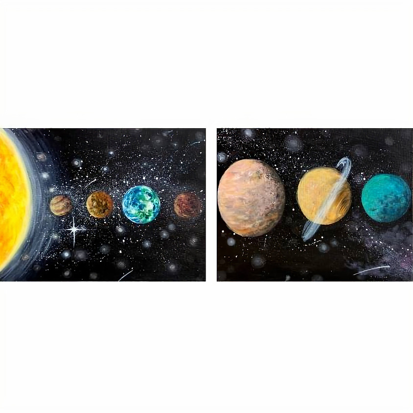 Acrylic Solar System - Space Week
