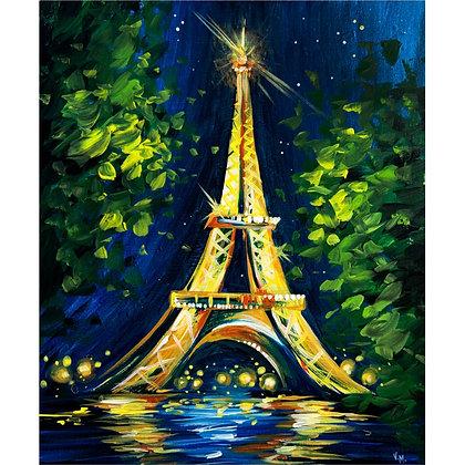 Paris at Night - Video Recording
