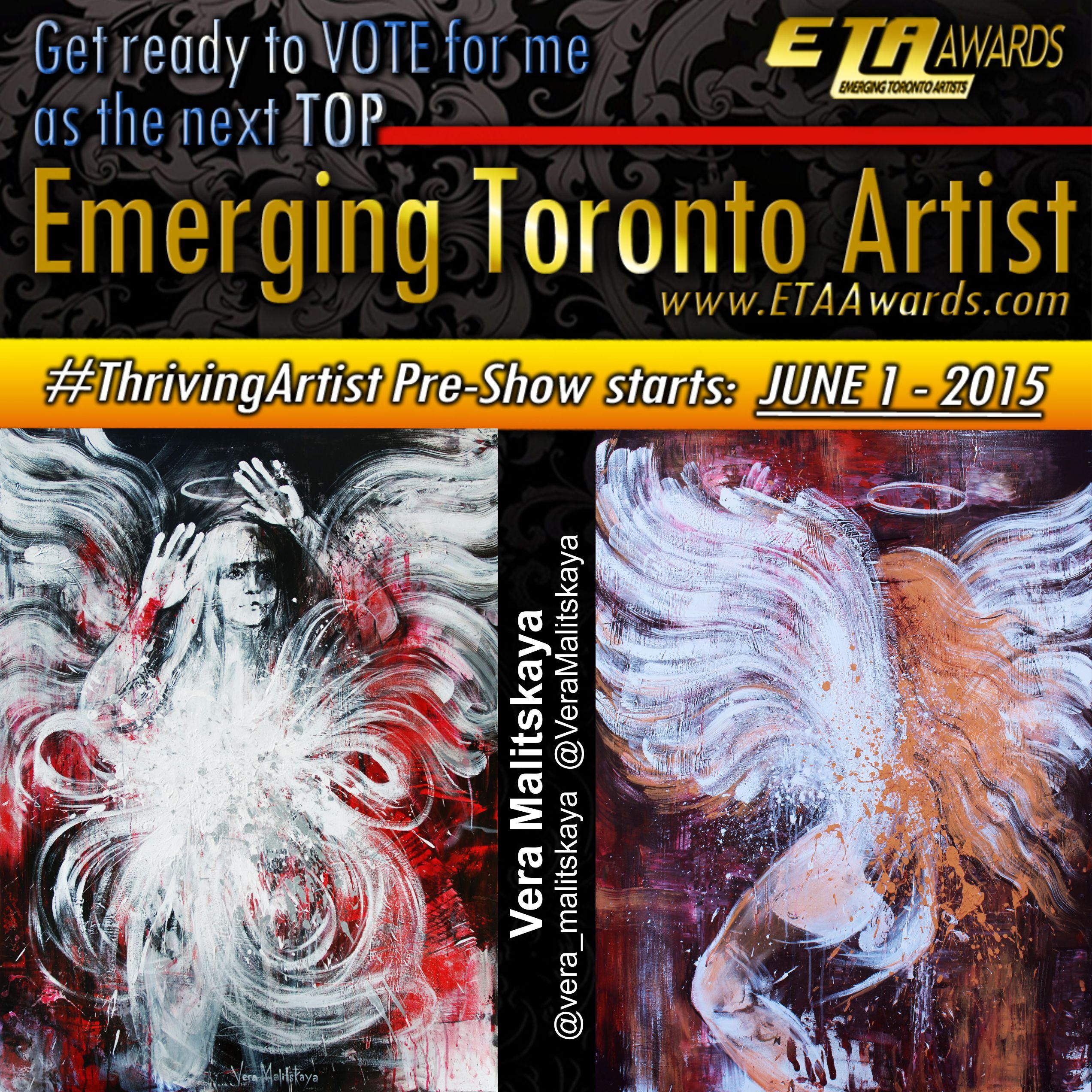 ETA Awards #ThrivingArtist Pre-Show