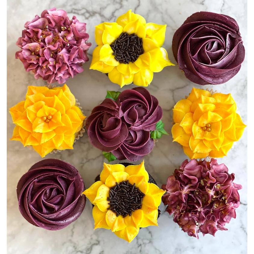 Autumn Florals - Cupcake Decorating Workshop