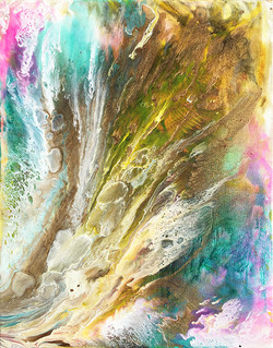 Acrylic fluid series #7