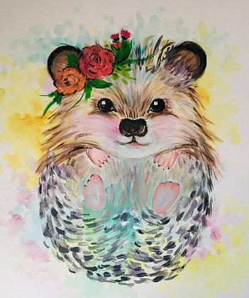 Hedgehog Splash - Video Recording