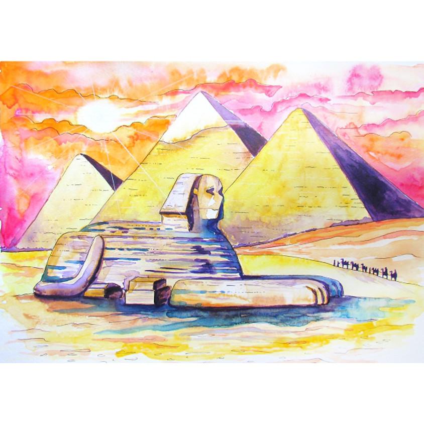 Egypt - Watercolour