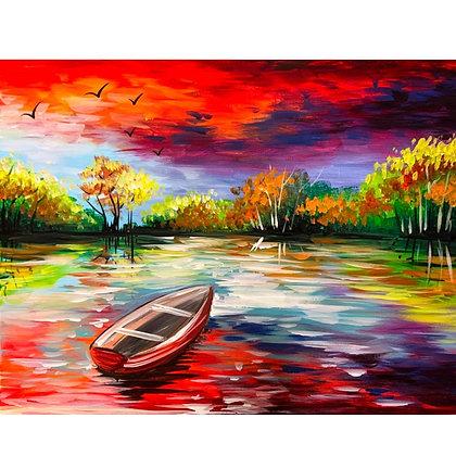 Fall Boat Ride - Video Recording