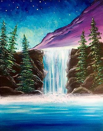 Waterfall Mist - Video Recording