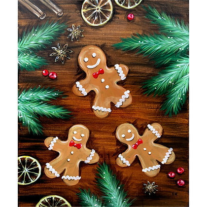 Gingerbread Friends - Video Recording