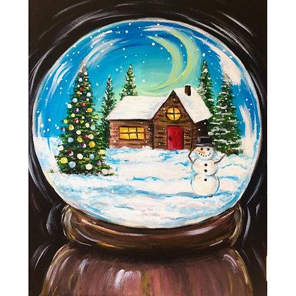 Winter Snow Globe - Video Recording