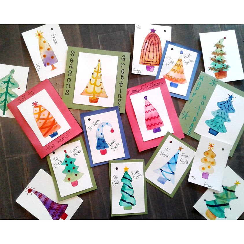Craft Your Own Cards and Gift Tags - Watercolour and Craft Event