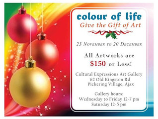 """""""COLOUR OF LIFE"""" EXHIBITION"""