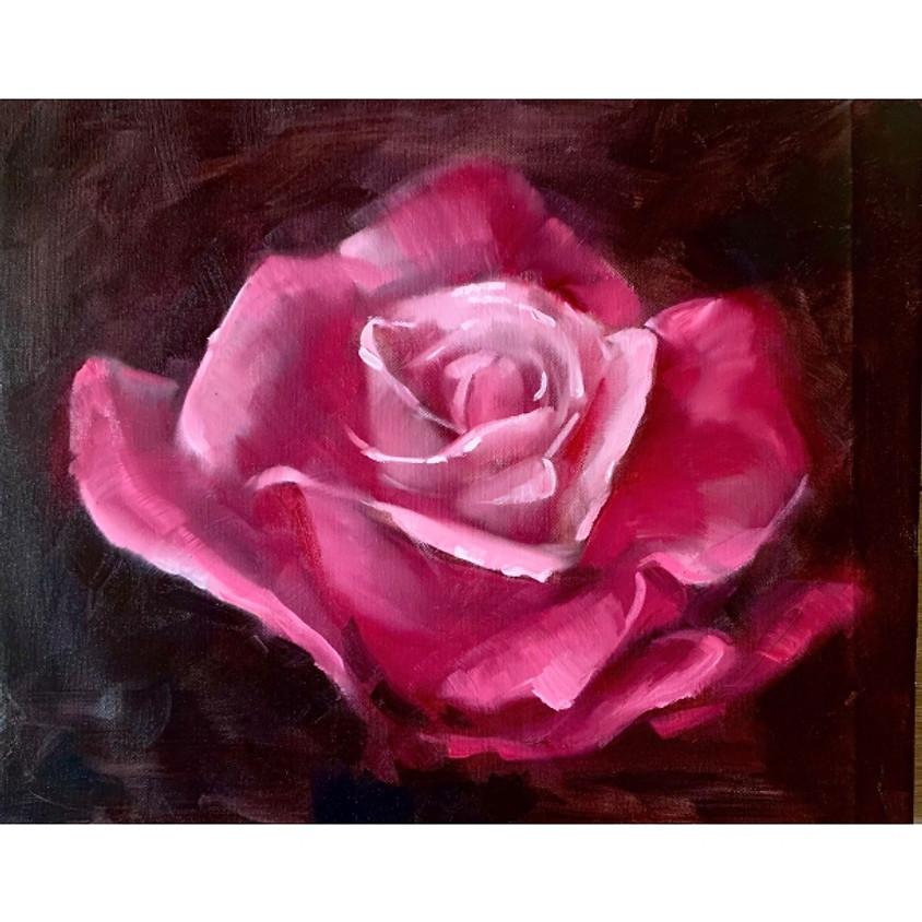 Oil Painting - Fragrant Rose