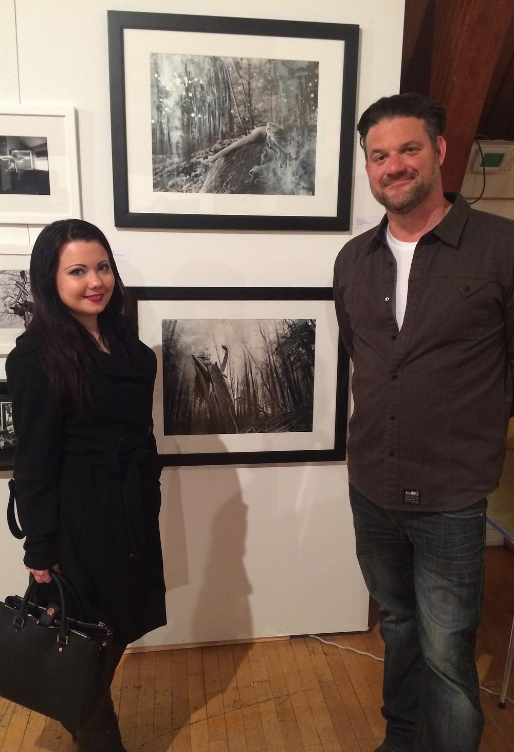 Stephen Milne and Vera Malitskaya at the Dark Room 4.0