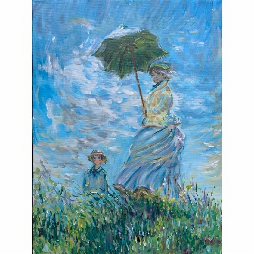 2 Day Event - Recreate a Masterpiece - Madame Monet and Her Son