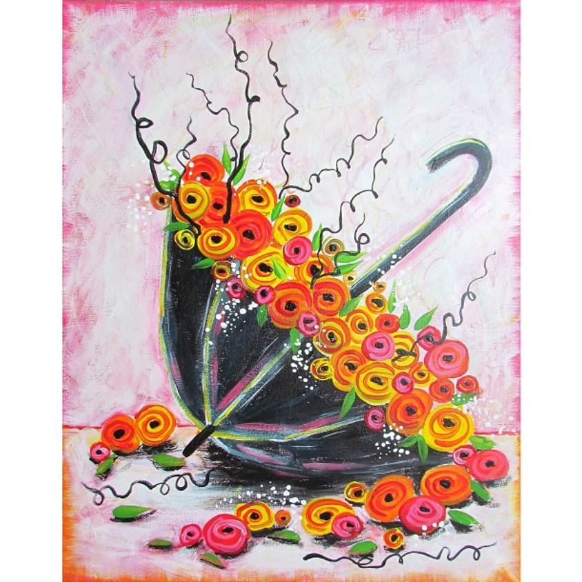 Umbrella & Roses